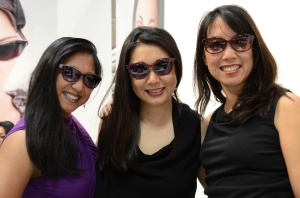 The ladies of 20/20 Optometry and TC Charton