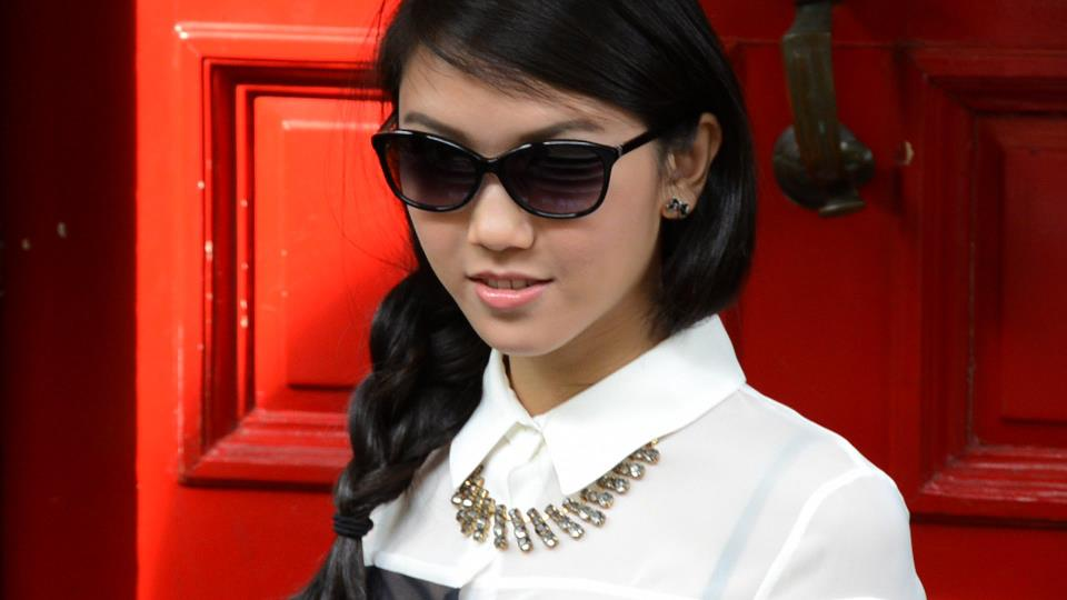 "e6c945fb13 Mochi Magazine Fashion Shoot Summer 2012. Mochi Mag model wears TC Charton  "" ..."